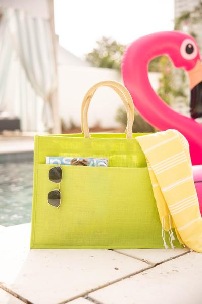 accessories, handbag, green, solid, lime