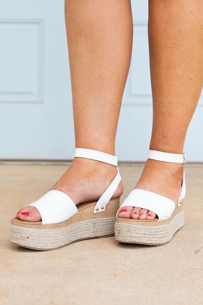 shoes, espadrilles, white, solid, open toe