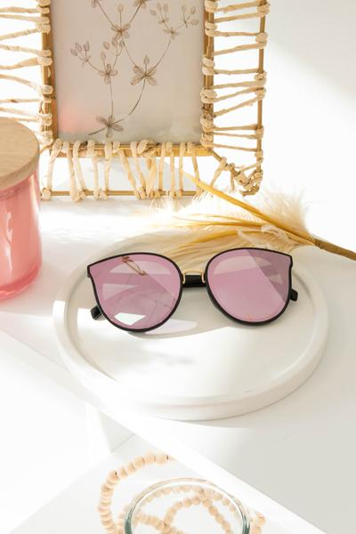 accessories, sunglasses, black, pink