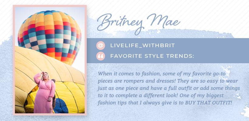 brittany mae plus-size influencer graphic