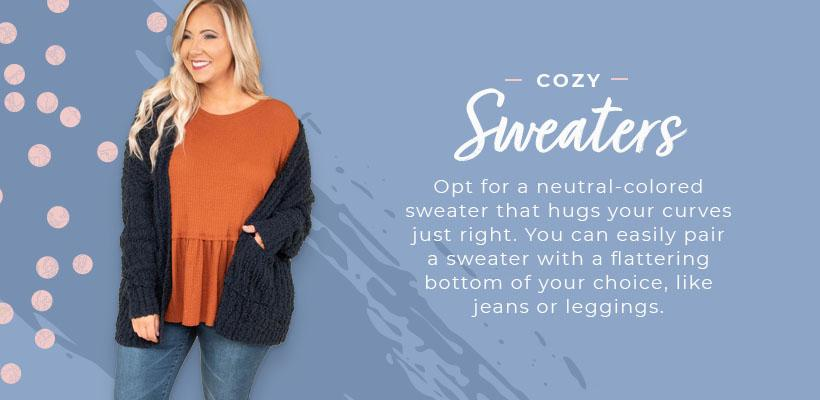 cozy sweaters graphic