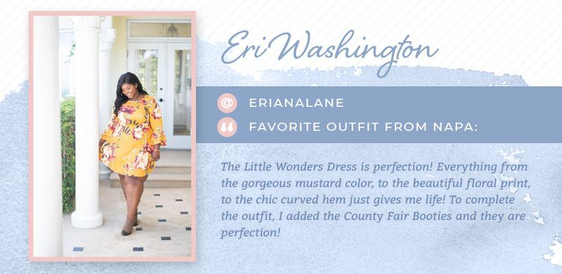 eri washington plus-size influencer graphic