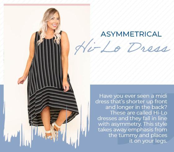 hi-lo dress graphic