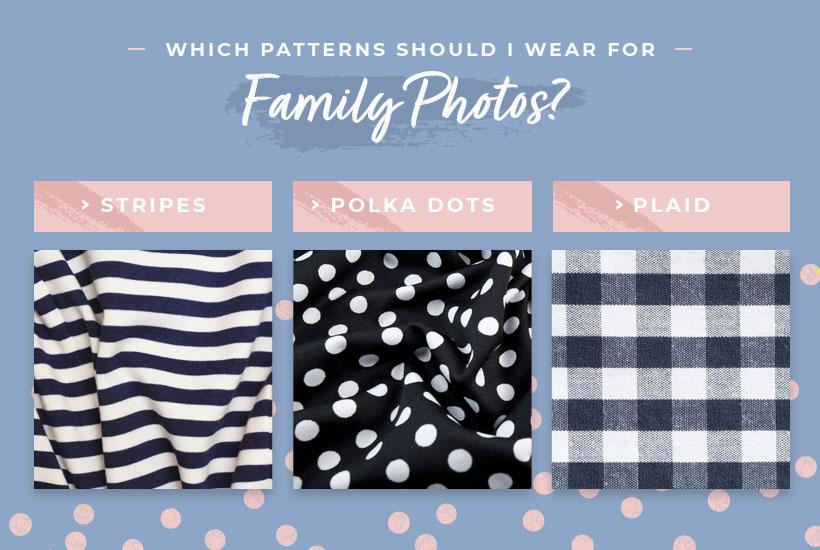 patterns to wear family photos