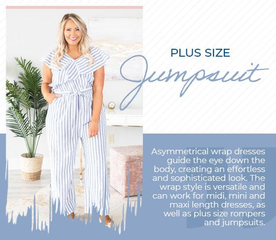 plus size jumpsuit graphic