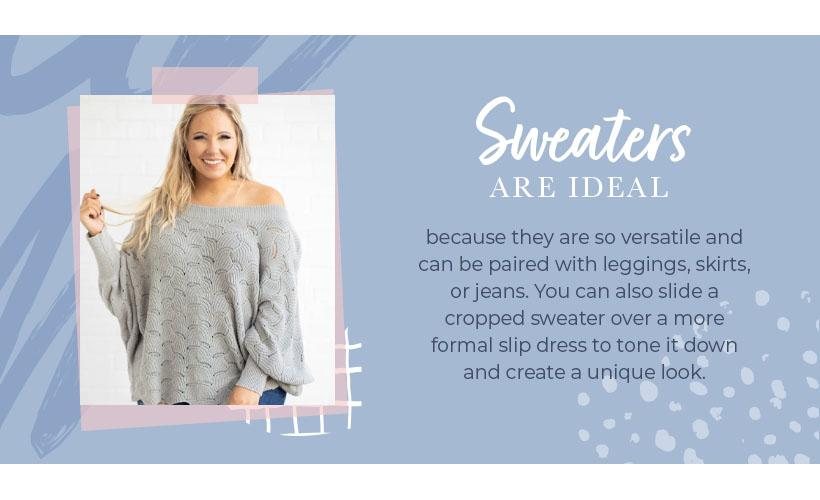 sweaters are ideal graphic