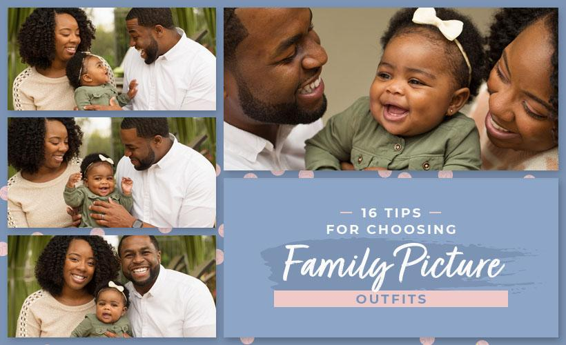 tips for choosing family picture outfits