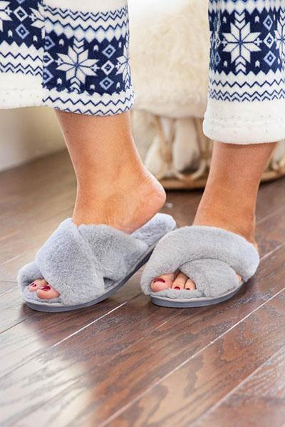 walk with warmth slippers