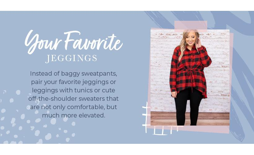 your favorite jeggings graphic