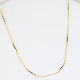 Blazzing Star Necklace, Gold
