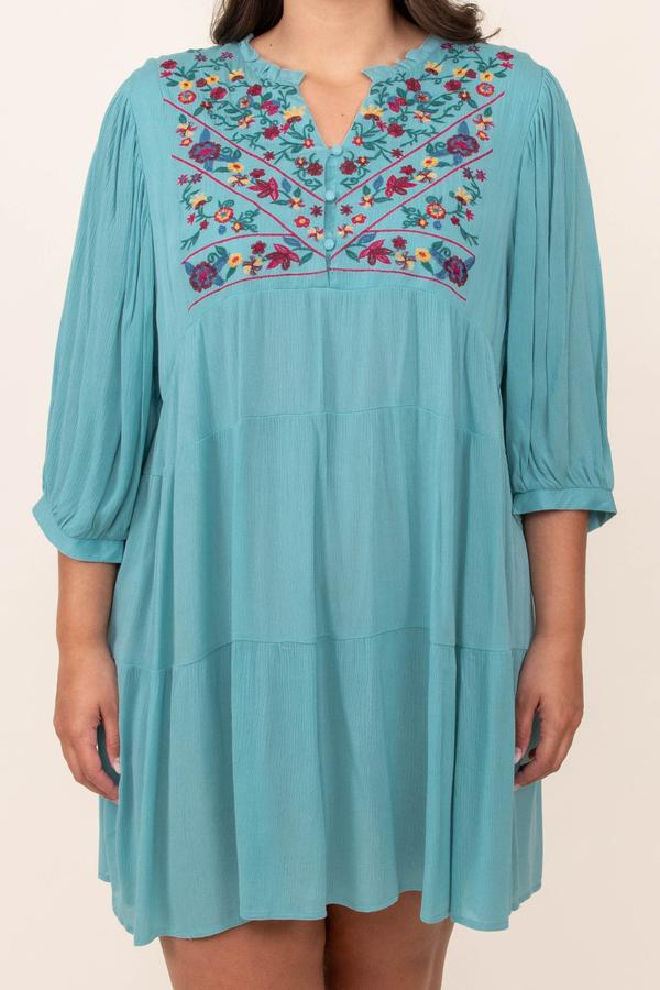 dresses, mint, casual, long sleeve, above knee