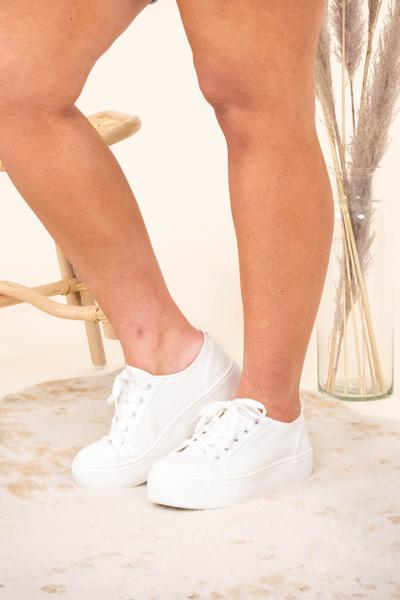 shoes, sneakers, white, solid