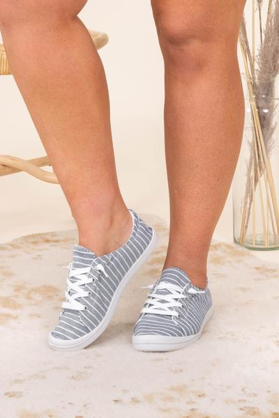 shoes, sneakers, blue, striped, navy