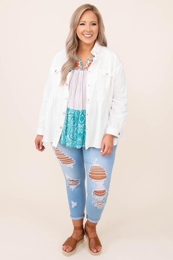 Cozier Now Jacket, White