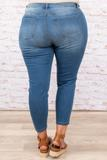 bottoms, jeggings, denim, blue, medium wash, skinny