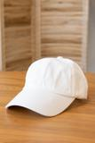 accessories, hat, white, basic, casual, plain
