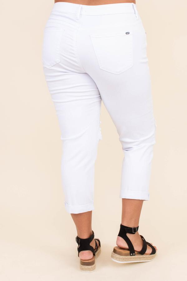 pants, jeans, skinny jeans, white, distressing, holes, cropped